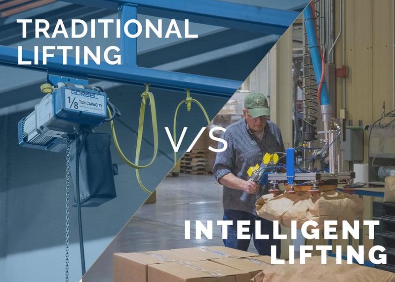 Tradional lifting vs intelligent lifting